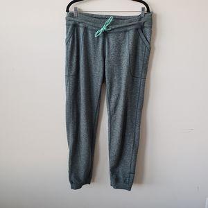 Lululemon heathered green sweatpants size 12